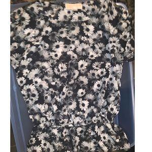 Michael Kors floral blouse